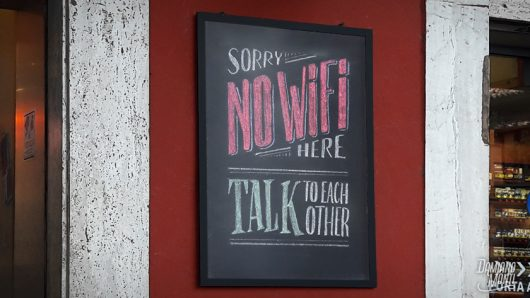 No Wifi Here
